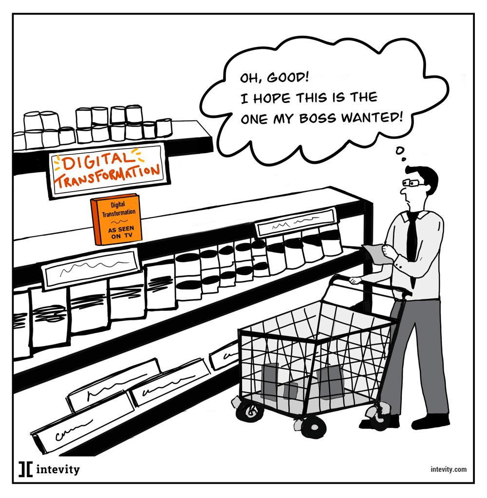 shopping for digital transformation